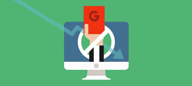 رفع پنالتی سایت در گوگل